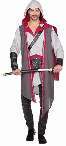 Herren Kostüm Krieger Assassine Fantasy Karneval Gr.48