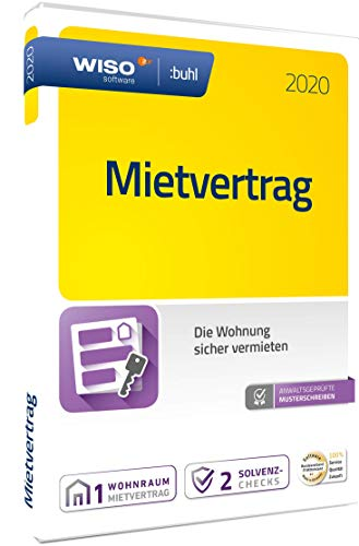 WISO Mietvertrag 2020|Disc (WISO Immobilien Software)