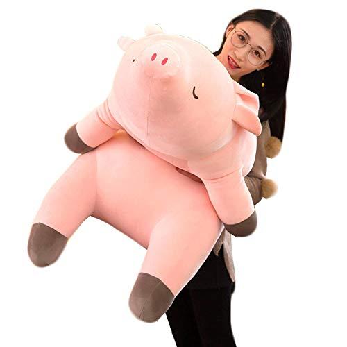 Soft Dolls Hugging Kissen gefüllte Piggy, Plush Very Soft Hugging Kissen gefüllte Kitty Animal Toy Pink Piggy(40cm,15.75'')