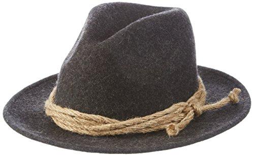 Stockerpoint - Hut H-3535.2 - Chapeau Homme Gris (Negro Antracita)