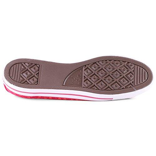 Converse Chuck Taylor All Star Ox, Unisex-Erwachsene Sneaker Berry Pink Blush