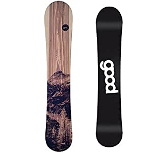 Goodboards Snowboard Wooden Double Rocker 2014 Länge 156