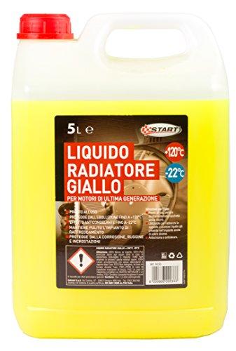 Start Liquido radiatore Giallo -22° 5le - Chimico Auto