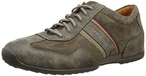 Camel Active - Space 24, Sneakers da uomo Grigio (Grey (Light Grey Vintage Suede))