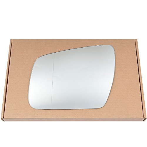 Preisvergleich Produktbild Wide Angle Left passegner side Silver Wing mirror glass for Kia Soul 2008-2014