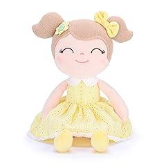 Idea Regalo - Gloveleya Giocattoli Regalo per Bambini Peluche Bambole di pezza Peluche Buddy Soft Spring Girls Confezioni Regalo - Giallo