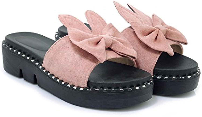 QIN&X Wouomo Casual Sandals Sandals Sandals Flats Flip Flop   unico  19aaf6
