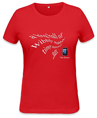 Wimey Womens T-shirt XX-Large (Doctor Who River Song, Shirt)