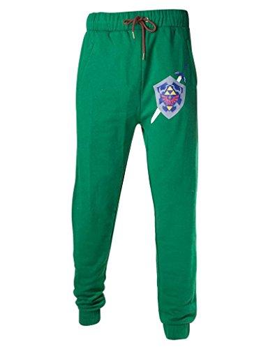Komfort Loungewear (Nintendo Jogginghose -M- Zelda, grün)