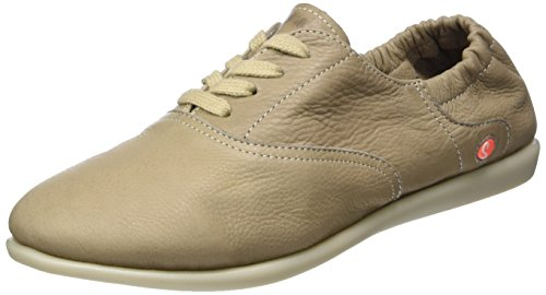 Softinos Ver362sof Smooth, Brogues Femme Taupe