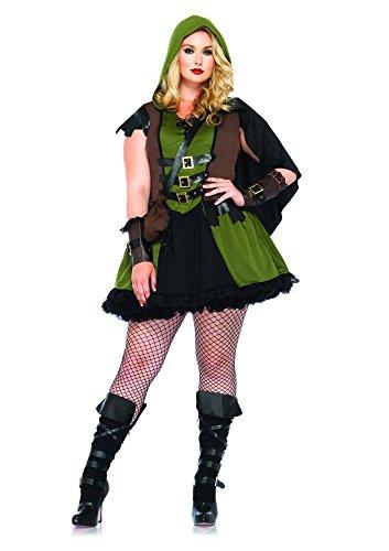 Imagen de leg avenue  disfraz robin hood para niña a partir de 15 años, talla 48 50 85281x09136