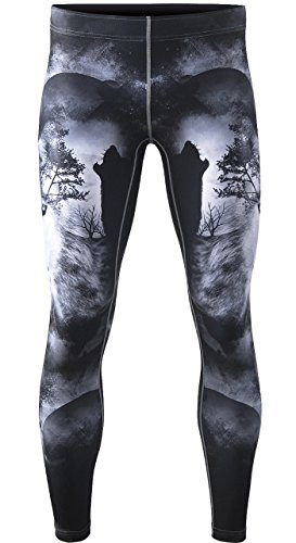Zipravs-BJJ-Compression-Tight-Pants-Workout-Running-Baselayer-For-Men