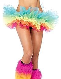 Aimerfeel intimate womans multicoloured 5 layered tutu skirt 8-14