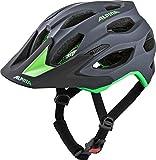 Alpina Unisex- Erwachsene Carapax 2.0 Fahrradhelm, Charcoal-Green, 57-62 cm