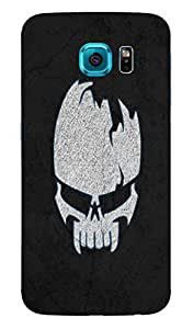 Back Cover for Samsung Galaxy S6 Edge Plus raw skull
