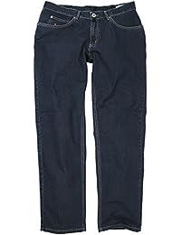 Blaue Stretch Jeans von Greyes in großen Größen bis 70