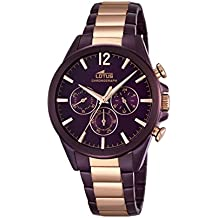 Amazon Fr Montre Lotus Homme Violet