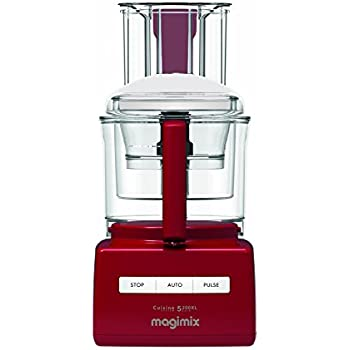 Magimix 5200XL Food Processor - Red