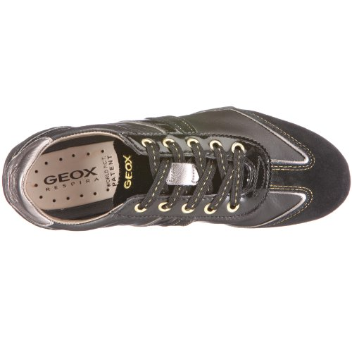Geox Snake, Sneaker Donna Nero