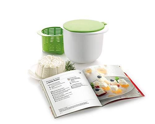 Lékué 0220100V06M600 Kit para elaborar queso fresco, 1 Liter, Plástico