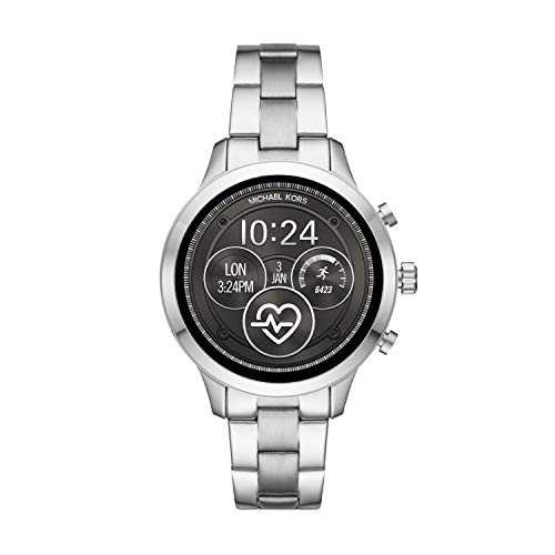 Michael Kors Womens Smartwatch with Stainless Steel Strap MKT5044