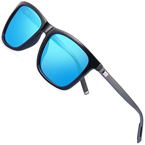 67d2d4ceaa FEIDU Gafas de sol polarizadas para hombres Mujeres Gafas de sol para  hombre Unisex FD9003 (