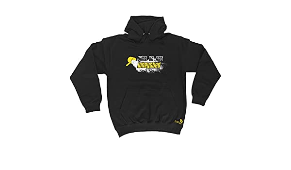 Time To Get Wheysted SWPS HOODIE hoody birthday gym training fitness training