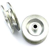 2Cuerda rollos 50mm rollo/Polea/Polea seilldurch, de hasta 9,5mm