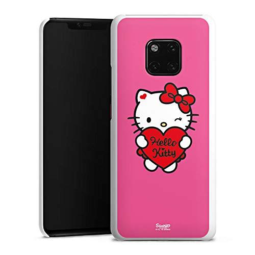 DeinDesign Hülle kompatibel mit Huawei Mate 20 Pro Handyhülle Case Hello Kitty Merchandise Fanartikel Amour