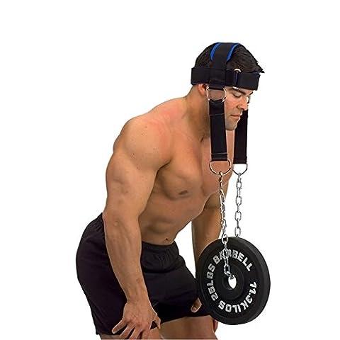 lzndeal harnais de tête pour le cou exercices de
