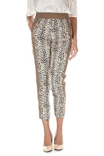 Liu Jo Jeans W15230t T7968 Pantalone Donna Beige/panna 26