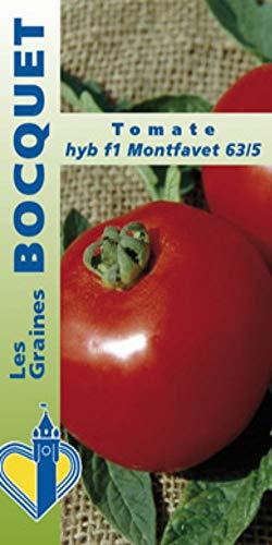Les Graines Bocquet - Graines De Tomate Hyb F1 Montfavet - Graines Potagères À Semer - Sachet De 0.3Grammes