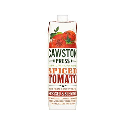 Cawston Presse Épicée 1L De Jus De Tomate (Paquet de 2)