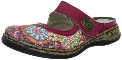 Rieker 46385/91, Sandales femme - Rose (Multicolore), 36 EU (3.5 UK) (5.5 US)