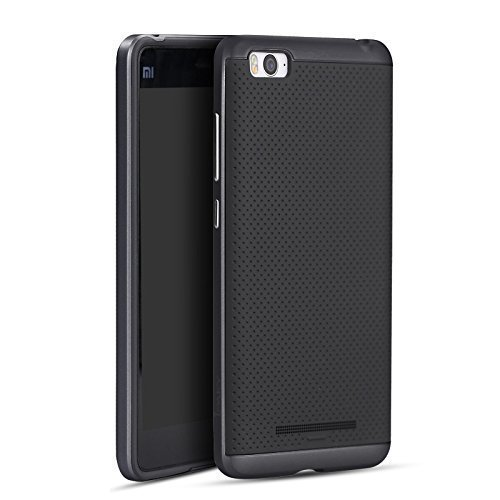 iPaky Premium TPU+PC Hybird Armor Protective Back Cover for Xiaomi Mi 4i -Grey