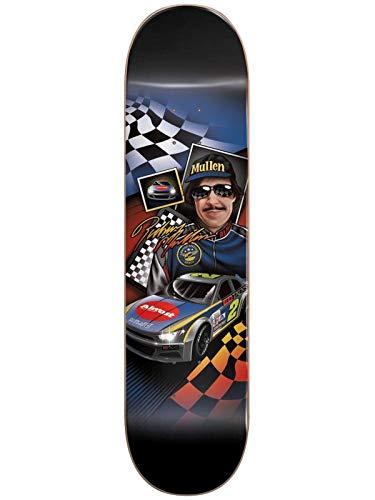 Almost Rodney Mullen Talladega Slick Rodney Mullen - 8.125 Inch Skateboard-Deck (One Size, Schwarz)