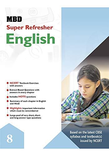 MBD SUPER REFRESHER ENGLISH - VIII (CBSE) (English Edition)