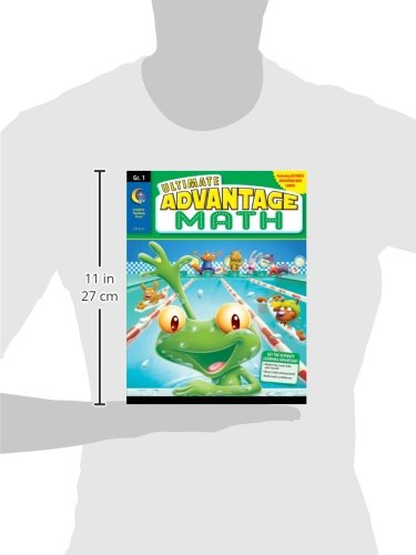 Ultimate Advantage Math, Grade 1 [With Quiz Cards]
