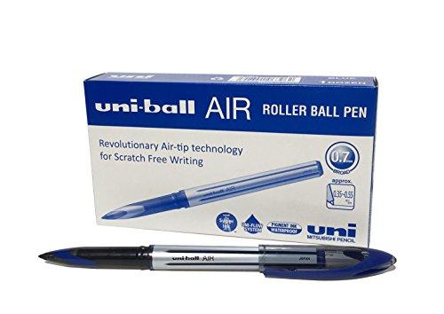 B-188-L Air Kugelschreiber, blaue Super-Tinte, fälschungssicher, Füllfederspitze, 12 Stück ()