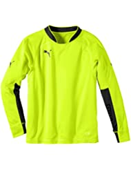 PUMA Trikot GK Shirt - Maillot, color amarillo, talla 10 años (140 cm)