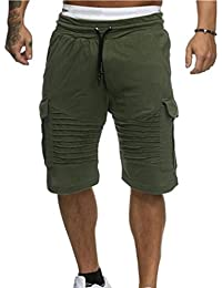 3db761440f6a Hommes Shorts Mode Maillots De Bain Respirant Plage Surfant Running Sport  Pantalon Yesmile (XL,