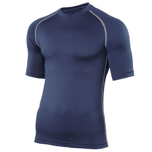 Nashorn Erwachsenen Grundlage Shirt Short Sleeve XS Blau - navy (Rugby Blau Navy Damen)
