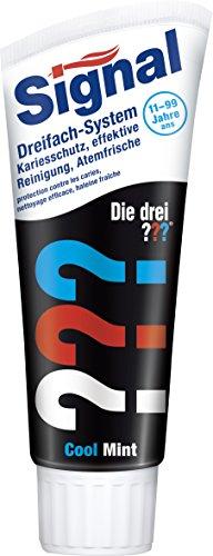 Signal Zahnpasta Die drei Fragezeichen, 6er Pack (6 x 75 ml)