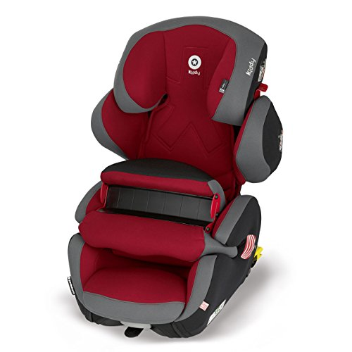 Preisvergleich Produktbild Kiddy Kaboosh 41551GF049 Guardianfix Pro 2 Autositz, Fangkörpersystem, ISOFIX, Gruppe 1/2/3 (9-36 kg, ca. 9 Monate-ca. 12 Jahre), Sao Paulo (rot)