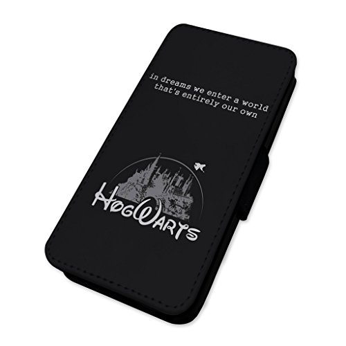 Hogwarts Dreams quote–Custodia ad aletta in pelle copertura di carta Apple iPhone 6/6S
