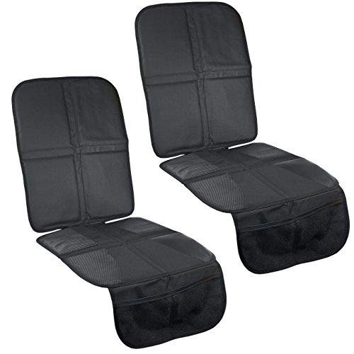 Steppenläufer rutschfeste Autositzauflage für Kindersitze - ISOFIX geeignete Kindersitz-Unterlage (Extra-Stark)