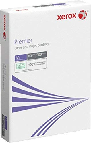 Xerox Lot de 500 feuilles de papier format A4 pour photocopieurs et imprimantes - Blanc