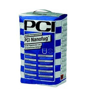 "15Kg PCI Nanofug "" hellgrau "" Nr. 21 flexibler Fugenmörtel"