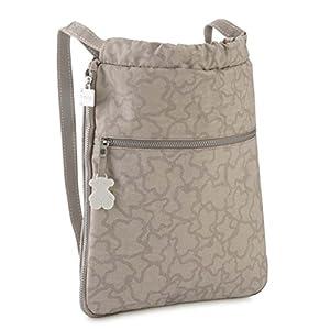 41fNXqslfYL. SS300  - TOUS Caine Kaos N, Bolso mochila para Mujer, 33x38x6 cm (W x H x L)