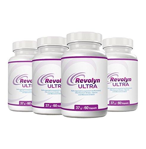 Revolyn Ultra - Schlankheitspille für effizienten Gewichtsverlust | Jetzt das 4-Flaschen-Paket mit Rabatt kaufen | (4 Flaschen)